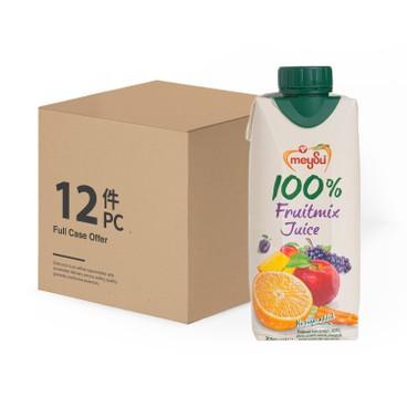 MEYSU - 100%FRUITMIX JUICE - CASE OFFER - 300MLX12