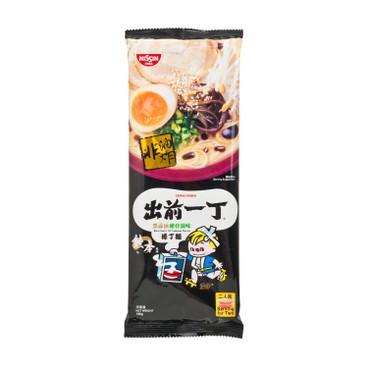 DE-MA-E - Ramen Straight Noodle black Garlic Oil Tonkotsu - 186G