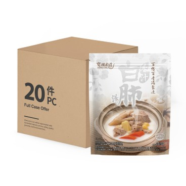 寶湖廚莊 - 杏汁白肺湯-原箱 - 500GX20
