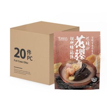 寶湖廚莊 - 花膠螺片燉竹絲雞-原箱 - 500GX20