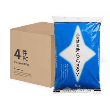 神明 - 北海道閃亮米397-原箱 - 5KGX4