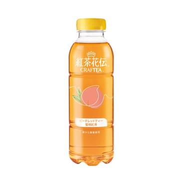 紅茶花伝™ - Craftea™ 蜜桃茶 - 500MLX2