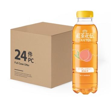 紅茶花伝™ - Craftea™ 蜜桃茶-原箱 - 500MLX24
