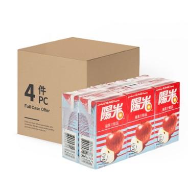 陽光 - 蘋果汁飲品-原箱 - 250MLX6X4