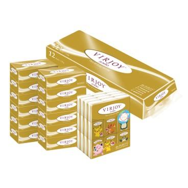 VIRJOY - JUMBO COMBO (TOILET TISSUE+BOX TISSUE+HANKY) - 12'S+6'SX2+36'S