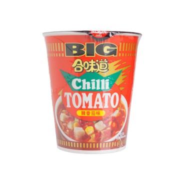 日清 - 合味道大杯麵-辣番茄味 - 112GX3