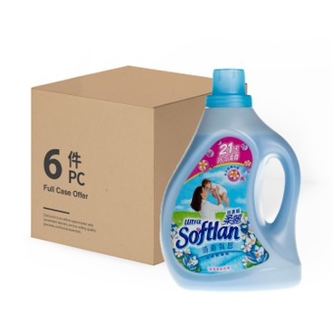 SOFTLAN - ULTRA CONCENTRATED FABRIC SOFTENER SPRING FRESH - 6PCS - 1LX6