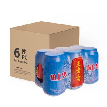 WONG LO KAT - HERBAL TEA -CASE - 310MLX6X4