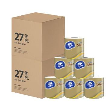 維達 - 金鑽系列4層衛生紙(原箱單卷裝) - 2箱原箱 - 27'SX2