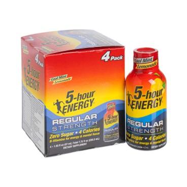 5 Hour Energy - ENERGY DRINK-COOL MINT LEMONADE REGULAR - 57MLX4