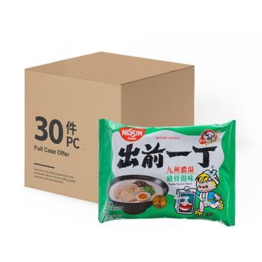 出前一丁 - 即食麵-九州豬骨濃湯味-原箱 - 100GX30