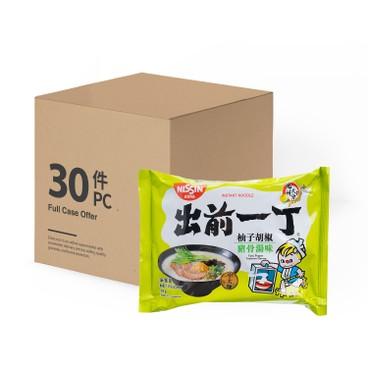 出前一丁 - 即食麵-柚子胡椒豬骨湯味-原箱 - 98GX30