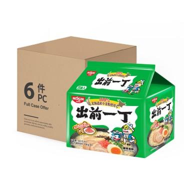 DE-MA-E - INSTANT NOODLES TONKOTSU FLAVOUR (HOKKAIDO WHEAT FLOUR) - CASE OFFER - 100GX5X6