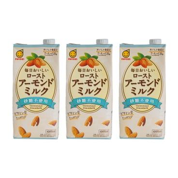 丸山 - 無糖杏仁奶 - 1LX3