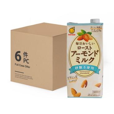 丸山 - 無糖杏仁奶 - 原箱 - 1LX6