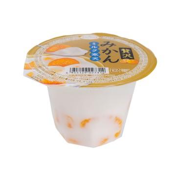 Tarami 多良見 - 套裝-贅沢牛乳寒天啫喱-蜜柑味 - 230GX6