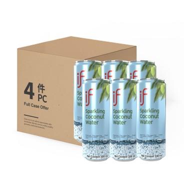 iF - 有氣椰青水-原箱 - 330MLX6X4