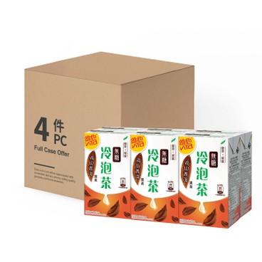 VITA - Cold Brew NO SUGAR TEA-High Mountain Puer Tea - CASE OFFER - 250MLX6X4