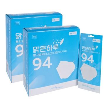 CLEAN & SCIENCE - KF94 MASKS-2PC - 50'SX2
