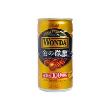 ASAHI - WONDA GOLD COFFEE - 185GX3