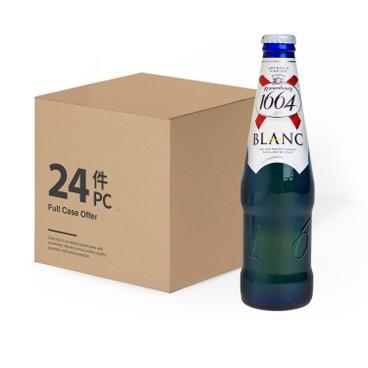 KRONENBOURG 1664(PARALLEL IMPORT) - Blanc Bot - 330MLX24