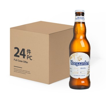 HOEGAARDEN(PARALLEL IMPORT) - Wheat Beer Bottle Full Case - 330MLX24