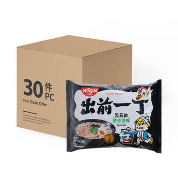 出前一丁 - 即食麵-黑蒜豬骨湯味-原箱 - 100GX30