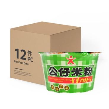 公仔 - 碗米粉-雪菜肉絲味-原箱 - 77GX12