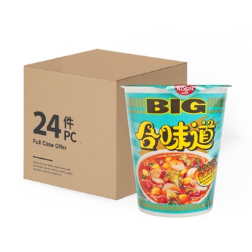 NISSIN - Big Cup Noodle spicy Seafood - 103GX24