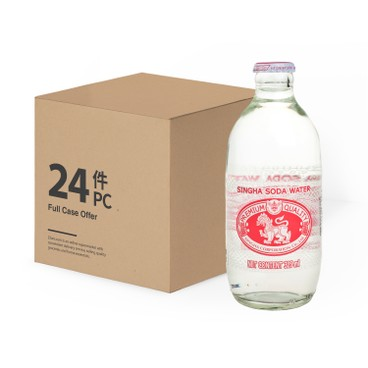 SINGHA - Soda Water case - 325MLX24