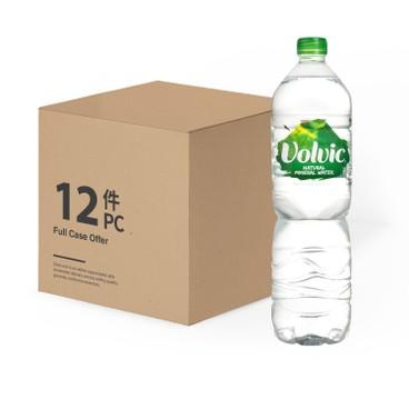 VOLVIC 富維克(平行進口) - 天然礦泉水-原箱 - 1.5LX12