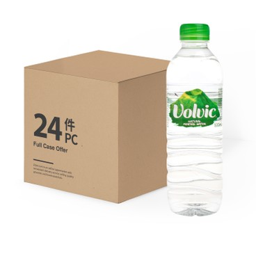 VOLVIC 富維克(平行進口) - 天然礦泉水-原箱 - 500MLX24