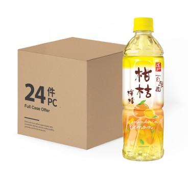 道地 - 柑桔檸檬-原箱 - 500MLX24