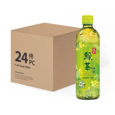 道地 - 蜂蜜綠茶-原箱 - 500MLX24