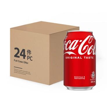 可口可樂 - 汽水-原箱 - 330MLX24