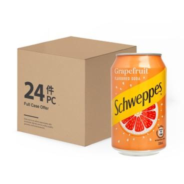 Schweppes - GRAPEFRUIT SODA - 330MLX24