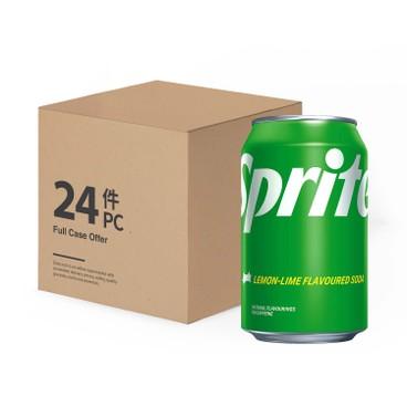 雪碧 - 檸檬青檸味汽水-原箱 - 330MLX24