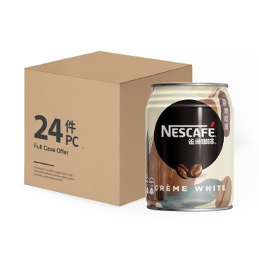 NESCAFE 雀巢 - 歐陸奶滑咖啡(罐裝)-原箱 - 250MLX24
