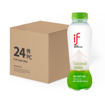 iF - 100 Coconut Water - 350MLX24