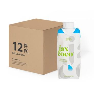 JAX COCO - 100 Pure Coconut Water - 330MLX12