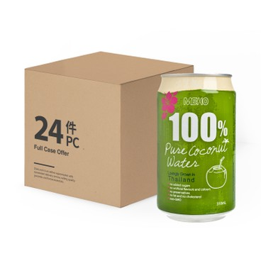 MEKO - 100 Pure Coconut Water - 310MLX24