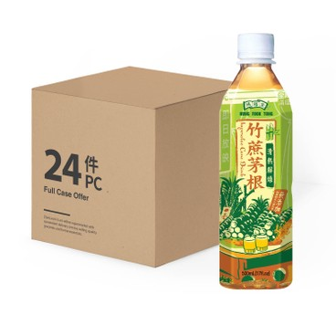 鴻福堂 - 竹蔗茅根-原箱 - 500MLX24