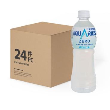 AQUARIUS - Zero Electrolytes Replenish Drink case - 500MLX24