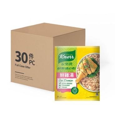 家樂牌 - 通心粉-鮮雞湯-原箱 - 80GX30