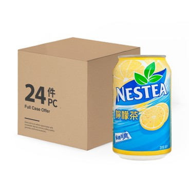 NESTEA 雀巢茶品 - 檸檬茶-原箱 - 315MLX24