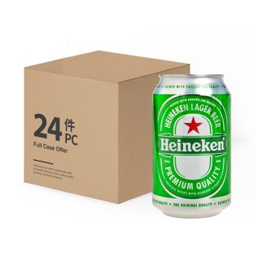 HEINEKEN - Beer Can full Case - 330MLX24