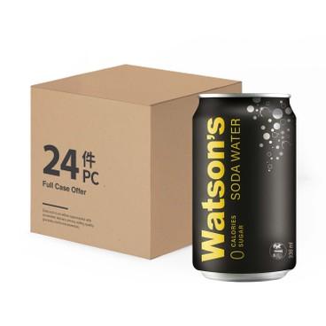 WATSONS - Soda Water - 330MLX24
