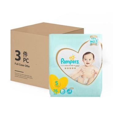PAMPERS幫寶適 - 日本進口一級幫紙尿片(細碼) - 原箱 - 76'SX3