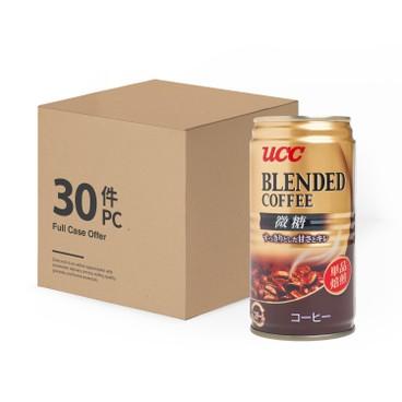 UCC - BLEND COFFEE SLIGHTLY SWEET - 185MLX30