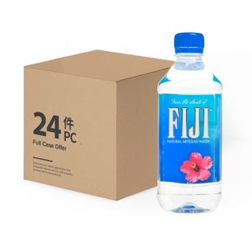 FIJI(平行進口) - 天然礦泉水-原箱 - 500MLX24